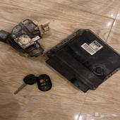 كمبيوتر كامري 2010  الدقمه والمفتاح