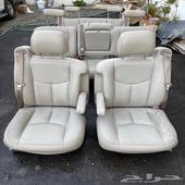 مقاعد جلد بيج سوبربان ويوكن XL بحالة الوكالة