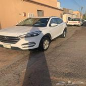 سيارة توسان 2016 سعودي للتنازل عن طريق مصرف الراجحي