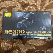 كاميرا نيكون D5300 جديده لم تستخدم