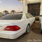 لكزس LS 430 لوايح اماراتية للبيع تشليح ( شرورة )