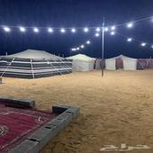 مخيم للأجار بالبيضاء