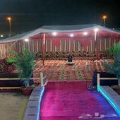 مخيم للايجار قسم عوائل وشباب طريق عسفان بعد الفروسية