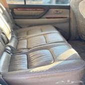 للبيع جيب لكزز موديل 2004 يحمل لوحة مميزة ماشي 400 الف كيلو