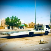 سطحه غرب الرياض لنقل السيارات المعطلة و المصدومة