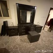 أثاث شبة جديد غرفة نوم كاملة مع مكيف سبيلت سامسونج بسعر مغري