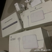 شواحن لابتوب ابل ماك و كيبورد قيمنق و USB SuperDrive اصلي