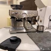 للبيع مكينة قهوة بريفل سيج Sage SES875