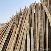 خشب نظيف مع جسور حديد