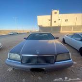 مرسيدس شبح S500 موديل 1995