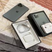 ايفون 11 برو ماكس 64 جيجا لون زيتي