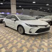 تويوتا كورولا 2021 فل محرك 1.5 سعودي جديد