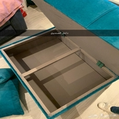 كنب جديد للبيع استخدام نظيف مع تخزين داخلي