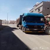 شاحنة قلاب مرسيدس 2004