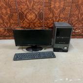 كمبيوتر وطابعة hp pro 8610