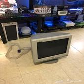 شاشه LG كبيوتر للبيع شبه جديده