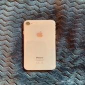 ايفون 8 نظيف وشبه جديد