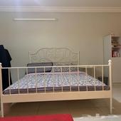 بيع سرير ايكيا مع مرتبة ايكيا
