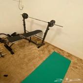 اجهزة رياضية معدات رياضية اثقال بنش اوزان بار اولمبي نادي