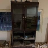 مكتبه كتب خشب السعر 50 ريال