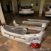 صدامات صدام و دعسات و شاشة لاندكروزر GXR
