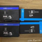 شمعات ليد H11 و 9006
