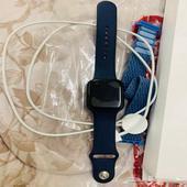 ساعة آبل الإصدار السادس اللون كحلي نظيفة جدا  استخدام 3 أشهر