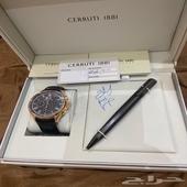 ساعة مع قلم من باريس غاليرس