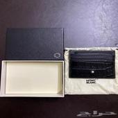 محفظة مون بلان أصلية - جديدة