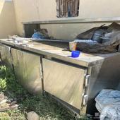 ثلاجات عرض متنوعه وثلاجة مطعم استيل للبيع ومكيف اسبلت 48 ال