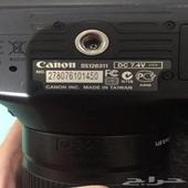 كاميرا كانون 600دي نظظيفه استعمال بسيط..ارجو عدم بخس السلعه