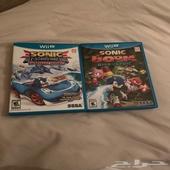 لعبتين سونيك على الوي يو Sonic games on Wii U