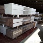 طاولات تلفزيون جديده ب250 و300 مع التوصيل داخل جده