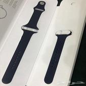 ساعة ابل الاصدار السادس اللون ازرق