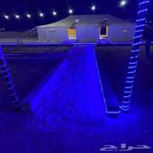 مخيم للايجار في الثمامة بويب مقابل محطة خزام قسمين