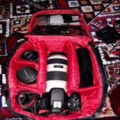 عدة تصوير كاملة كاميرا وعدسات للبيع
