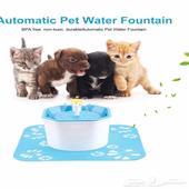 نافورة القطط والكلاب لشرب الماء