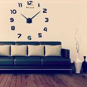 ساعات حائط جدارية ثري دي ثلاثية الأبعاد