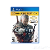 حساب أمريكي في لعبة the witcher3 مع الإضافات و13دولار