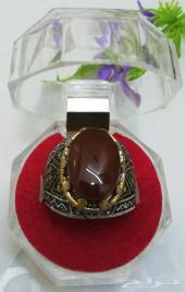 خاتم ( عقيق يماني ) مزاد رقم 4