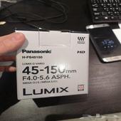 عدسة كاميرا باناسونك 45-150 panasonic Lumix