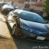 كورولا 2015 نص فل سعودي مكينة 1600