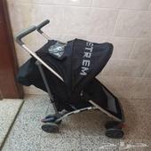 عربية اطفال ماركة فخمة وكرسي سيارة