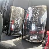 اصطبات تاهو نظيفه كانت راكبة على السيارة