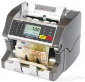 ماكينة عد نقود للاستعمال الشديد ضمان سنتان
