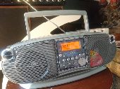 راديو 3 بواحد راديو ومسجل وسي دي نظيف ومخزن