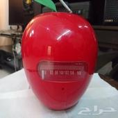 راديو بشكل تفاحه كبير الحجم