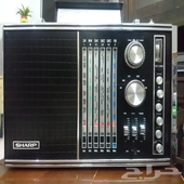 راديو شارب ياباني تحفه جميله