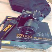 كاميرا نيكون الاحترافية D7000