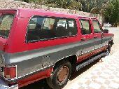 للبيع سياره جمس موديل 1988م مكينه 454 تماتيك